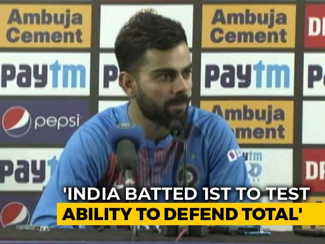 "Video : ""Willing To Get Out Of Comfort Zone"": Kohli After T20I Series Ends In Draw"