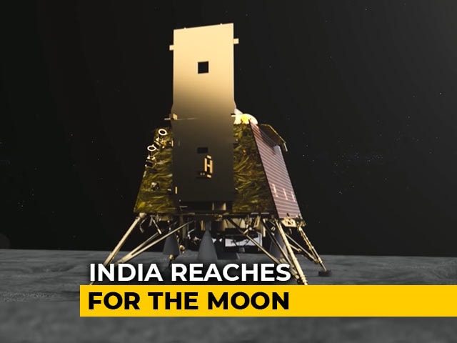 Video : India's Chandrayaan 2 To Land Close To South Pole Of Moon Tonight