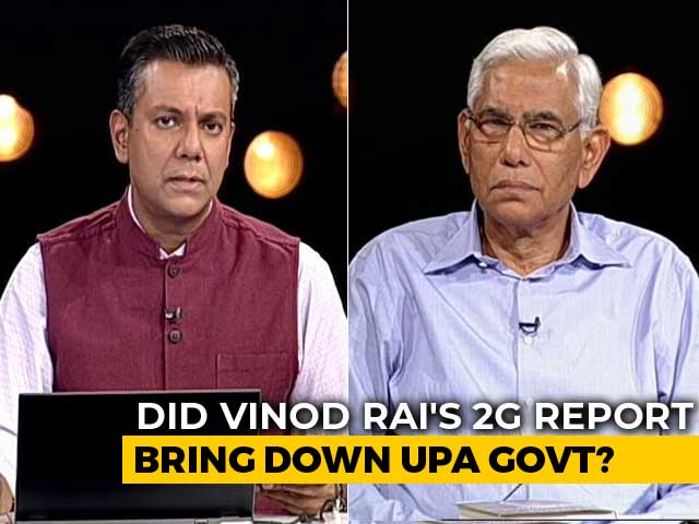 Video : Acquittals In 2G Case Don't Negate Auditor CAG's Report, Says Vinod Rai