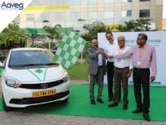 Aaveg Adds Tata Tigor EVs To Its Fleet For Corporate Travel