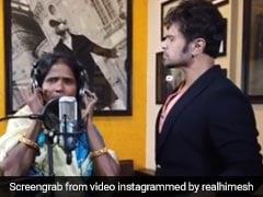 Ranu Mondal ने हिमेश रेशमिया और उदित नारायण के साथ रिकॉर्ड किया नया गाना, देखें Video