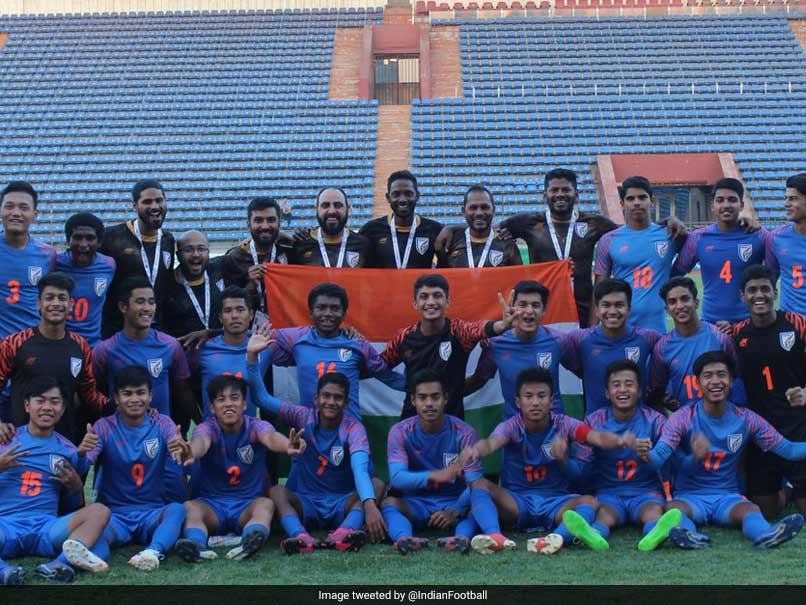 India Emerge Group Winners To Qualify For AFC U-16 Finals
