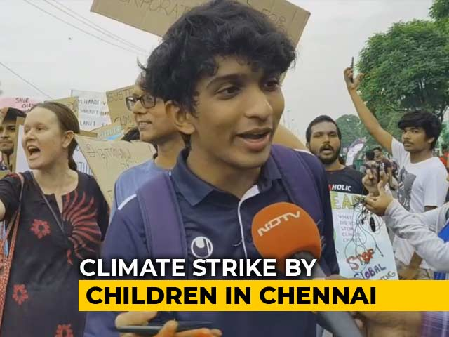 Video : Climate Strike By Children Turns Into People's Movement In Chennai