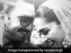 रणवीर सिंह और दीपिका पादुकोण की इस तस्वीर पर फिदा हुए फैन्स, देखें Photos