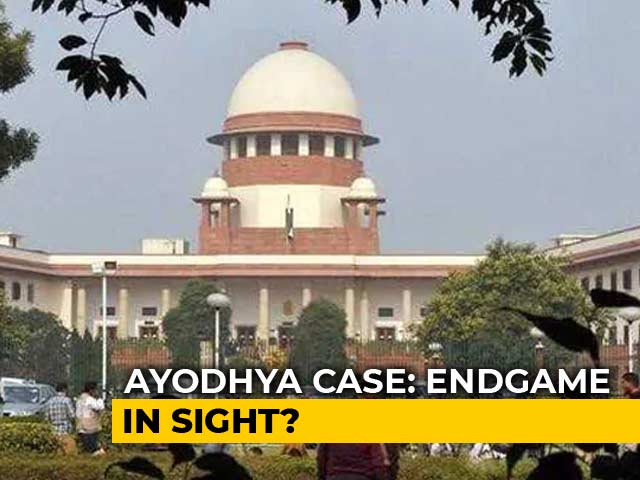 Video : Supreme Court Targets October 18 To Complete Ayodhya Hearings