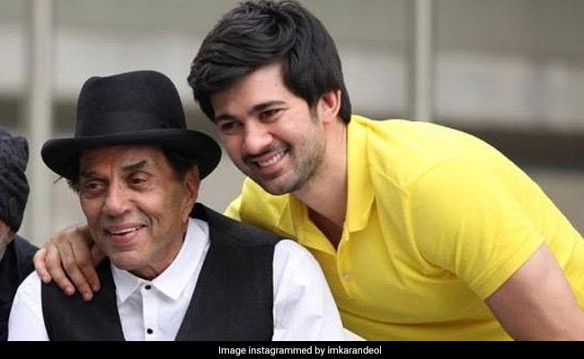 When Karan Deol Was 'Shocked' To See 'Bade Papa Dharmendra On Pal Pal Dil Ke Paas Sets