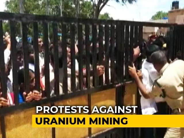 Video : Jana Sena's Pawan Kalyan Opposes Uranium Mining In Telangana