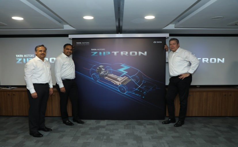 The Ziptron technology will be used in a range of Tata's upcoming electric vehicles.