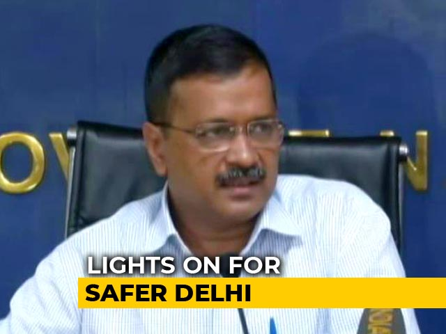 Video : Around 2.1 Lakh Street Lights To Be Installed In Delhi Under New Scheme