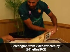 Pakistan Players Engage In