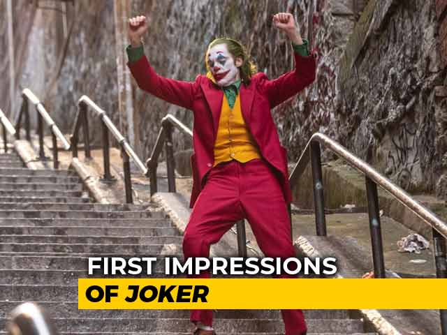 First Impressions Of Joker