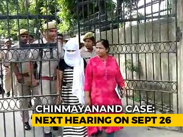 Video : Court Reprieve For UP Student Who Accused BJP's Chinmayanand Of Rape