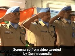17 Indian Peacekeepers In South Sudan Awarded Medals For Service