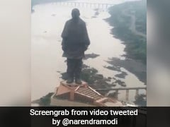 "In Gujarat On Birthday, PM Shares Video Of ""Majestic 'Statue Of Unity'"""