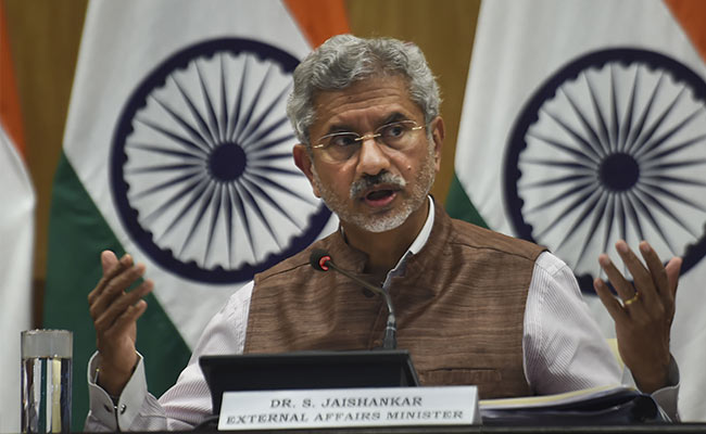 Government Confident Of Meeting Kartarpur Corridor Deadline: S Jaishankar