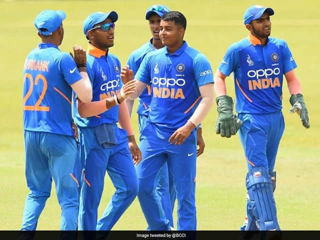 India beat Afghanistan in ACC U19 Asia Cup 2019