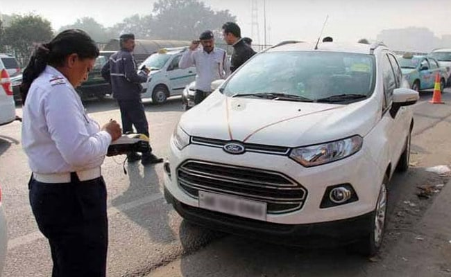 The Delhi Traffic Police will withdraw the challans issued between August and October 10