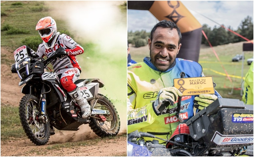 CS Santosh and Abdul Wahid Tanveer are the Indian riders participating in the 2019 PanAfrica Rally