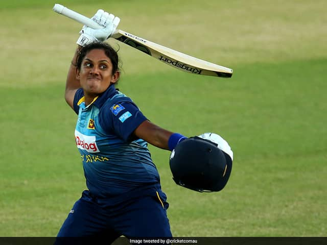 Sri Lanka Woman Cricketer Chamari Athapaththu Enthralls Sydney Crowd With Record Hundred. Watch