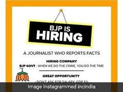 कांग्रेस ने ली चुटकी, BJP को ऐसे पत्रकार की जरूरत है जो फैक्ट दिखाता हो, लेकिन ये सही हुआ तो...