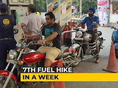 Video: Petrol, Diesel Prices Up For Seventh Straight Day