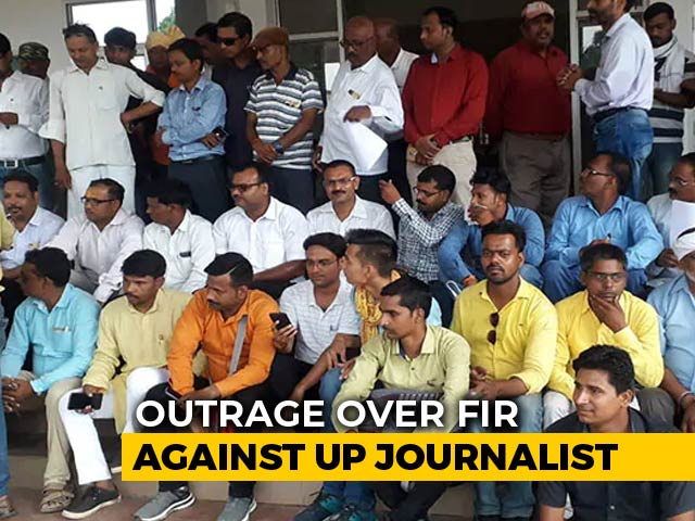 Video : Journalists Protest Case Against Reporter For 'Roti-Salt In School' Video