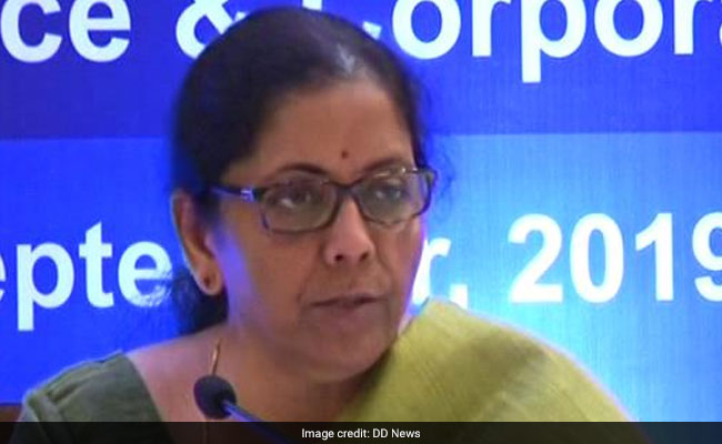 कंपनियों के लिए Corporate Tax में कटौती की घोषणा के बाद Sensex में भारी उछाल