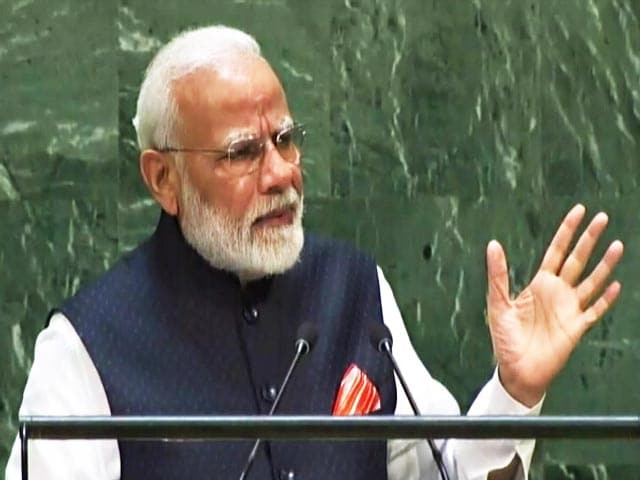 "Video : ""Elected With Most Votes In World"": PM Lists Centre's Achievements At UN"