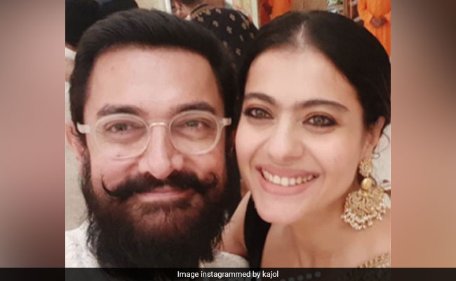 When Aamir Khan And Kajol Posed For A Selfie 'After So Long'
