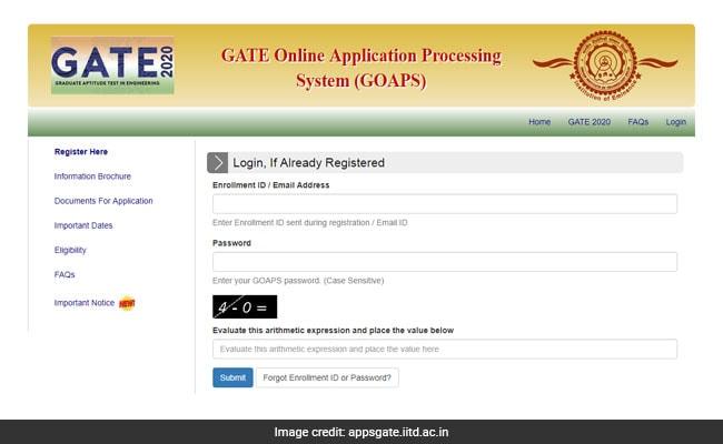 GATE 2020 Registration: गेट 2020 परीक्षा के लिए 24 सितंबर तक कर लें आवेदन वरना देनी होगी एक्सट्रा फीस