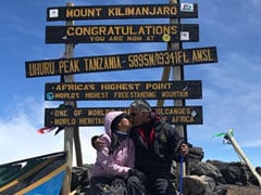 Ankita Konwar Climbs Mt Kilimanjaro With Milind Soman On 28th Birthday. See Pics