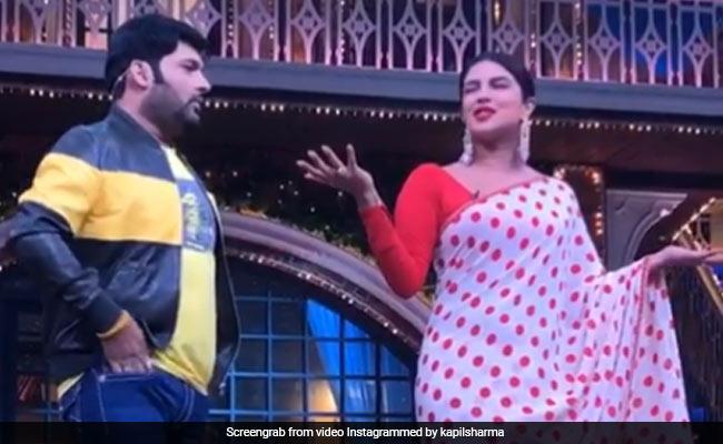 The Kapil Sharma Show: प्रियंका चोपड़ा के सवालों के जाल में यूं फंसे कपिल शर्मा, बोले- मेरी मम्मी ही बदल गई...देखें Video