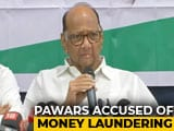 "Video : ""Maharashtra Won't Bow Before Delhi"": Sharad Pawar On Corruption Case"
