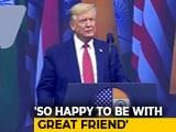 Video : PM Modi One Of America's Most Loyal Friends, Says Donald Trump