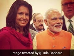 "Tulsi Gabbard Welcomes PM Modi To US, Apologises For Skipping ""Howdy Modi"""