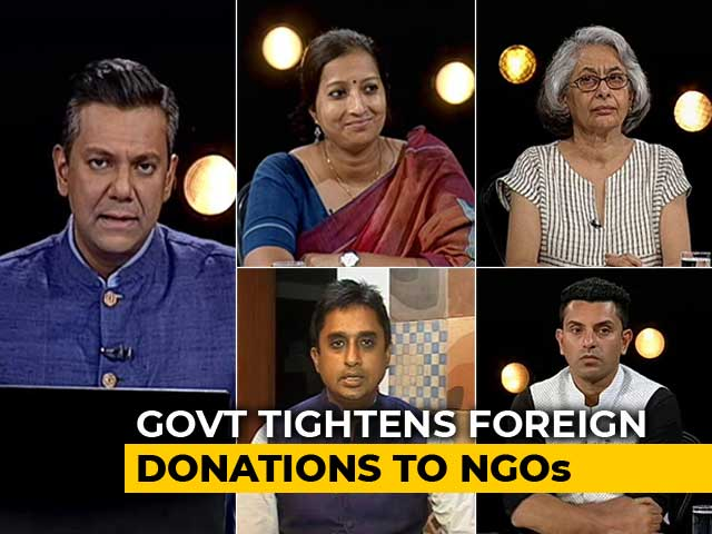 Video : Government vs NGOs: Transparency Or Crackdown?