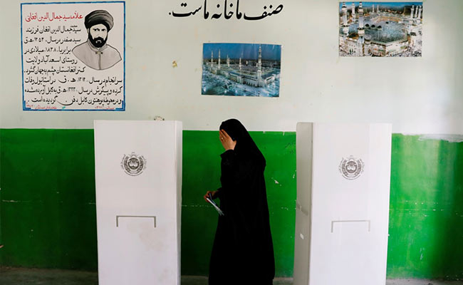 Afghan Election Sees Big Drop In Voter Numbers: Unofficial Estimate