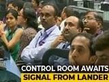 Video : Tense Moments At ISRO As Chandrayaan 2 Attempts Moon Landing