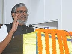 बिहार : अयोध्या मामले पर उप मुख्यमंत्री सुशील मोदी ने की संयम रखने की अपील
