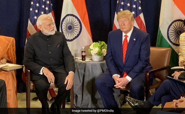 """PM Modi's """"Eyes Bulged Out In Surprise"""" On Trump Remark At Meeting: Book"""