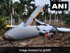 DRDO Drone 'Rustom-2' Crashes In Farm In Karnataka's Chitradurga District