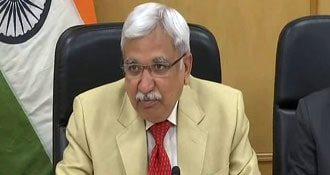 Election Body Chief Sunil Arora To Take 30% Salary Cut To Fund COVID-19 Fight