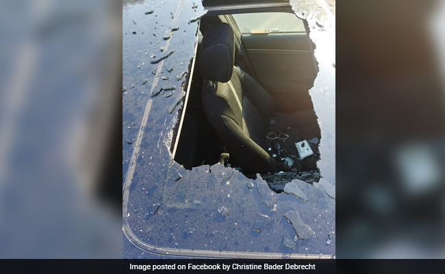 Dry Shampoo Can Left In Car Blasts Hole Through The Roof