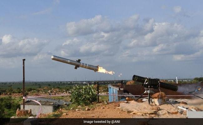 टैंक रोधी गाइडेड मिसाइल का सफल परीक्षण : रक्षा मंत्रालय