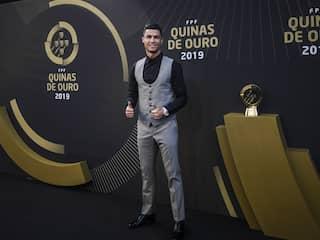 Watch: Cristiano Ronaldo Gets Heart-Warming Message From Alex Ferguson After Winning Record 10th Award