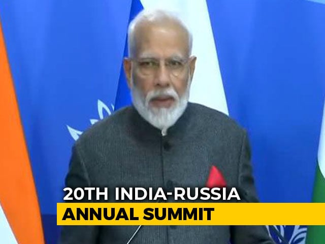 "Video : ""Honoured To Be 1st Indian Prime Minister To Come To Vladivostok,"" Says PM"