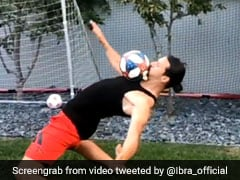Watch: Zlatan Ibrahimovic Recreates Keanu Reeves