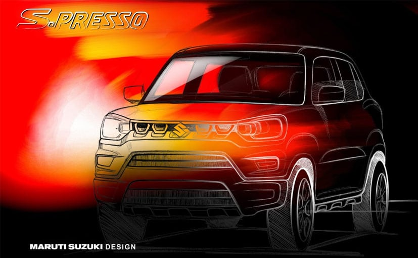 The Maruti Suzuki S-Presso gets a bold stance and a muscular look.