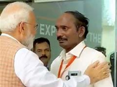 Moment When PM Modi Consoled An Emotional ISRO Chief