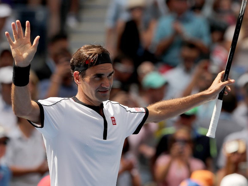 Roger Federer Crushes David Goffin To Reach US Open Quarterfinals